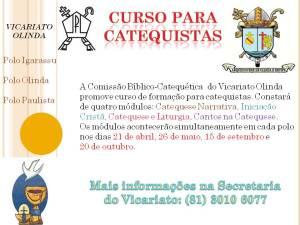 Curso Catequistas